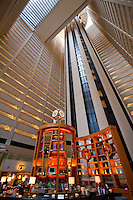 lifts to the Marriott Marquis View Restaurant in New York City October 2008