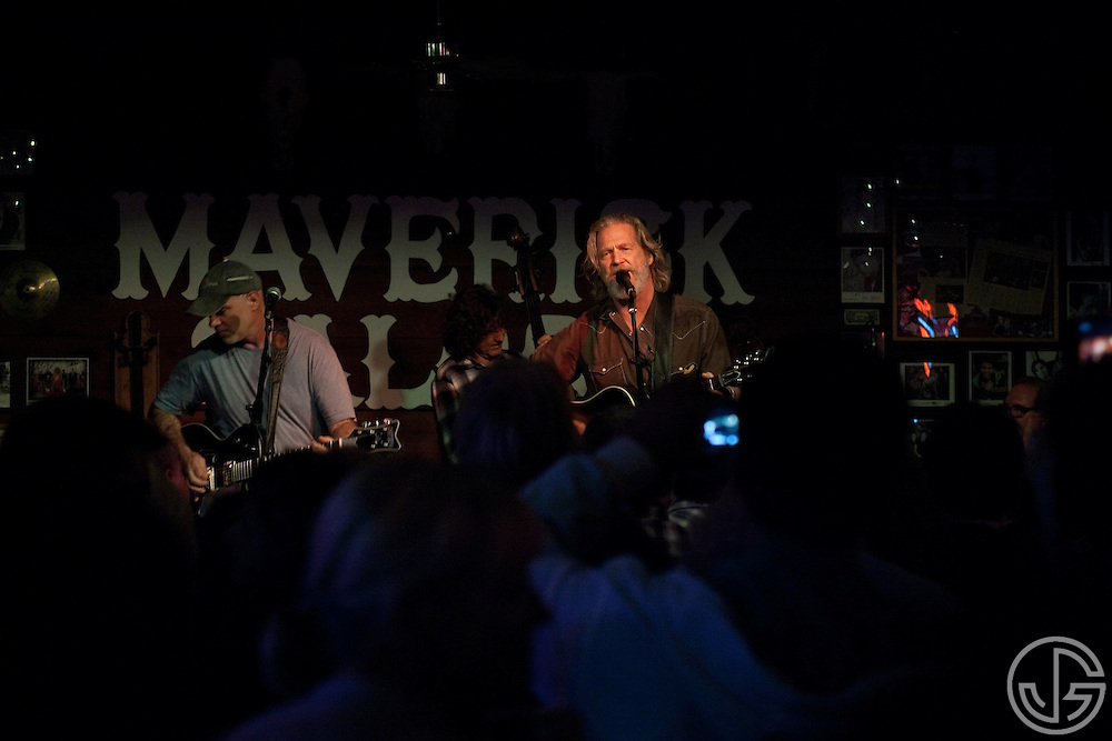 Jeff Bridges performs songs from his new, self-titled album at Maverick Saloon in Santa Ynez, California on June 23, 2011. Jeff Bridges' self-titled album is due for an August 16, 2011, release on Blue Note Records.