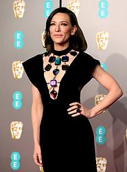 Cate Blanchett attending the 72nd British Academy Film Awards held at the Royal Albert Hall, Kensington Gore, Kensington, London.