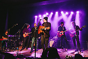 Casey Neill and the Norway Rats performing at Help The Hoople, a benefit for Scott McCaughey, at the Wonder Ballroom in Portland, OR - Jan 6, 2018. Photo by Jason Quigley.