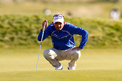 04.10.2012, Old Course, St. Andrews, SCO, European Golf Tour, Alfred Dunhill Links Championship, im Bild Markus Brier (AUT) // during the European Golf Tour, Alfred Dunhill Links Championship at the Old Course, St. Andrews, Scotland on 2012/10/04. EXPA Pictures © 2012, PhotoCredit: EXPA/ Mitchell Gunn