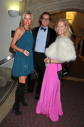 Left to right, FELICIA BROCKLEBANK and MAX KONIG and JULIET FETHERSTONHAUGH at the Women for Women International UK Gala held at the Guildhall, City of London on 3rd May 2012.