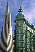 Transamerica Building in downtown San Francisco, California