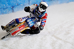 13.03.2016, Assen, BEL, FIM Eisspeedway Gladiators, Assen, im Bild #444 Igor Kononov (RUS) // during the Astana Expo FIM Ice Speedway Gladiators World Championship in Assen, Belgium on 2016/03/13. EXPA Pictures © 2016, PhotoCredit: EXPA/ Eibner-Pressefoto/ Stiefel<br /> <br /> *****ATTENTION - OUT of GER*****