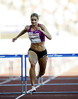 Friidrett , 5. juni 2010 , Bislett Games , Diamond League ,<br /> Christina Vukicevic ,  100 m hurdles