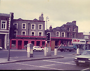 Old Dublin Amature Photos Date Unknown With 1980s, gAFFNEY AND SON, PUB, FAIRVIEW, imco cleaners, Old amateur photos of Dublin streets churches, cars, lanes, roads, shops schools, hospitals