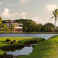 Villas Valriche, golf course, Mauritius.