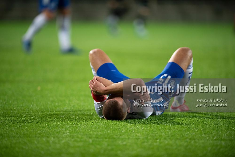 Miro Tenho ottelun päätyttyä. HJK - SJK. Veikkausliiga. Helsinki 3.10.2021. Photo: Jussi Eskola