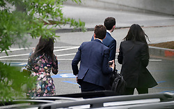 Kim Kardashian West (R) leaves the West wing of the White House after meeting with officials, including senior adviser Jared Kushner, to discuss prison reform on May 30, 2018 in Washington, DC. Photo by Olivier Douliery/ Abaca Press