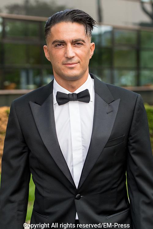 Gala Voetballer van het Jaar 2018 bij Studio 21 in Hilversum.<br /> <br /> Op de foto:  Serdar Gozubuyuk