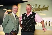 Sandy Lyle Ambassador for Ballantine's Whisky at the Ballantine's Championship. S.Korea's first european Tour event