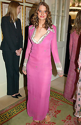 The HON.ILONA GUEST at a fashion show of Sybil Stanislaus Summer 2005 collection with jewellery by Philippa Holland held at The Lanesborough Hotel, Hyde Park Corner, London on 13th April 2005.<br /><br />NON EXCLUSIVE - WORLD RIGHTS