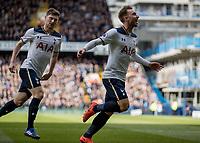Football - 2016 / 2017 Premier League - Tottenham Hotspur vs. Southampton<br /> <br /> Christian Eriksen of Tottenham runs of in celebration followed by Ben Davies at White Hart Lane.<br /> <br /> COLORSPORT/DANIEL BEARHAM