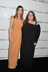 Left to right, KRISTEN WIIG and MELISSA McCARTHY at the Glamour Women of The Year Awards 2011 held in Berkeley Square, London W1 on 7th June 2011.