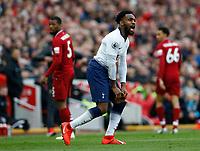 Football - 2018 / 2019 Premier League - Liverpool vs. Tottenham Hotspur<br /> <br /> Danny Rose of Tottenham Hotspur, at Anfield.<br /> <br /> COLORSPORT/ALAN MARTIN