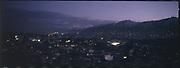 Kabul at dusk.