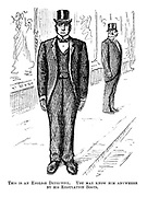 This is an English detective. You may know him anywhere by his regulation boots.