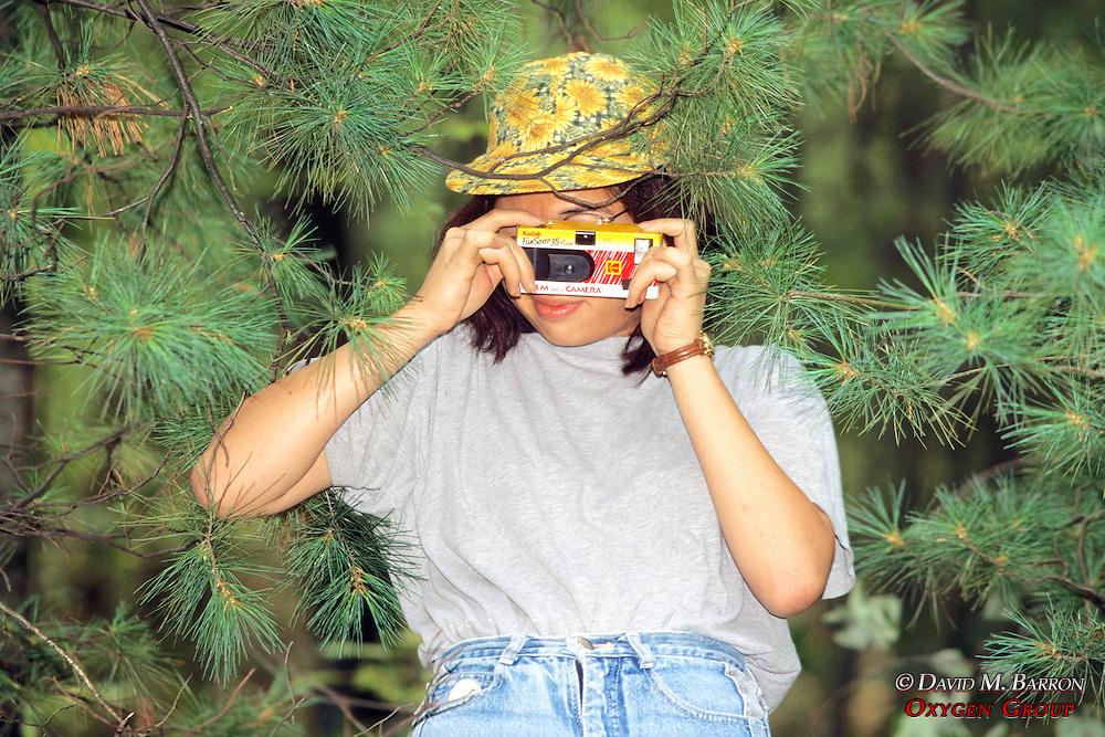 Eda Lai Taking Photo