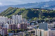 Honolulu & Punchbowl (National Memorial Cemetary of the Pacific), Oahu, Hawaii