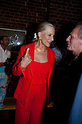 PRINCESS MICHAEL OF KENT; MARK SHAND, The launch party for Elephant Parade hosted at the house of  Jan Mol. Covent Garden. London. 23 June 2009.