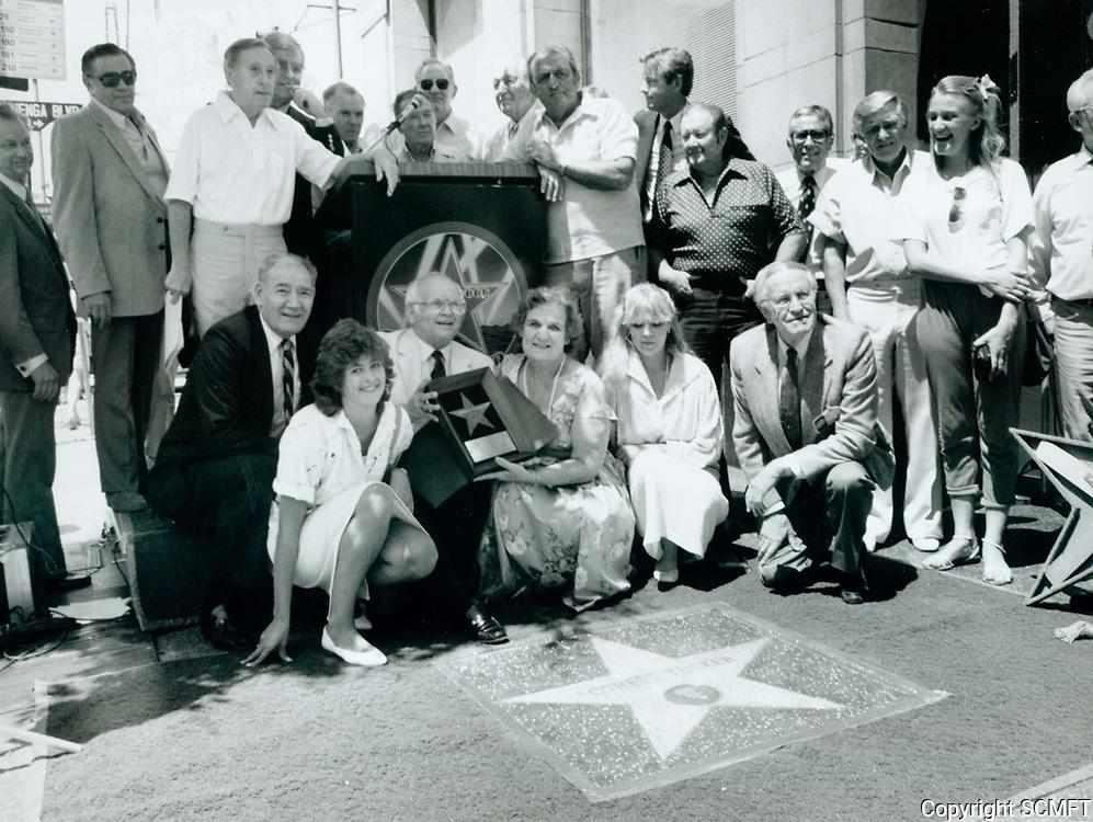 1986 Forrest Tucker's posthumous Walk of Fame ceremony