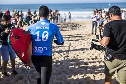 October 25, 2017 - Gabriel Medina (BRA) winner of the  Meo Rip Curl Pro 2017, Peniche, Portugal..MEO Rip Curl Pro Portugal 2017, Oeste Subregion, Portugal - 25 Oct 2017 (Credit Image: © Rex Shutterstock via ZUMA Press)