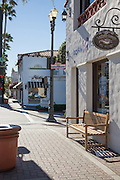 Downtown San Clemente Corner of El Camino Real and Del Mar