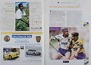 All Ireland Senior Hurling Championship Final,.08.09.2002, 09.08.2002, 8th September 2002,.Senior Kilkenny 2-20, Clare 0-19,.Minor Kilkenny 3-15, Tipperary 1-7,.8092002AISHCF,.Liam Cleary Car Sales, .Self Help, Hacketstown Co Carlow, .David Forde, Clare, Brian Greene, Waterford,