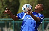 Fotball<br /> Tyskland<br /> Foto: Witters/Digitalsport<br /> NORWAY ONLY<br /> <br /> 06.01.2009<br /> <br /> Alex Silva<br /> Fussball Trainingslager HSV in Dubai