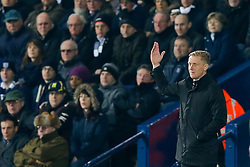 Swansea City Head Coach Garry Monk looks frustrated - Photo mandatory by-line: Rogan Thomson/JMP - 07966 386802 - 11/02/2015 - SPORT - FOOTBALL - West Bromwich, England - The Hawthorns - West Bromwich Albion v Swansea City - Barclays Premier League.