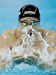 HANGZHOU, Dec. 15, 2018  Seto Daiya of Japan competes during Men's 400m Medley Final at 14th FINA World Swimming Championships (25m) in Hangzhou, east China's Zhejiang Province, on Dec. 15, 2018. Seto Daiya claimed the title with 3:56.43. (Credit Image: © Xinhua via ZUMA Wire)