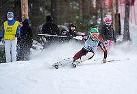 FIS Alpine Slalom at Proctor/Blackwater February 21, 2013.    Karen Bobotas Photographer