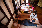 Massage in Luang Prabang, Laos.