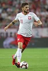 September 11, 2018 - Warsaw, Poland - Mateusz Klich of Poland in action during the international friendly match between Poland and Republic of Ireland at the Stadion Miejski on September 11, 2018 in Wroclaw, Poland. (Credit Image: © Foto Olimpik/NurPhoto/ZUMA Press)