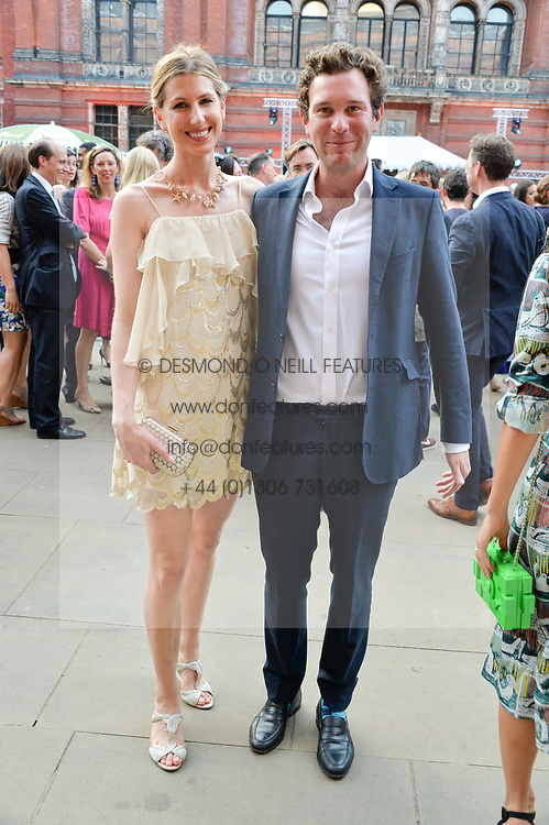 Susanna Warren and Jack Brooksbank at the V&A Summer Party 2017 held at the Victoria & Albert Museum, London England. 21 June 2017.