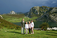 090818 Spanish Royals visit Asturias, Lagos de Covadonga