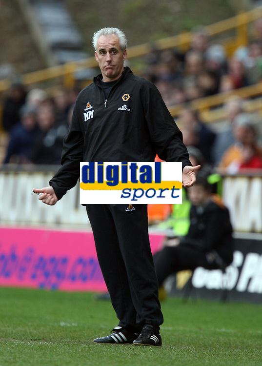 Photo: Rich Eaton.<br /> <br /> Wolverhampton Wanderers v Leeds United. Coca Cola Championship. 24/02/2007. Mick McCarthy, manager of Wolves sees his side win 1-0 at home