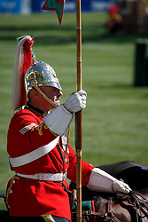 Household Cavalry <br /> BMO Nations Cup<br /> Spruce Meadows Masters - Calgary 2015<br /> © Hippo Foto - Dirk Caremans<br /> 12/09/15