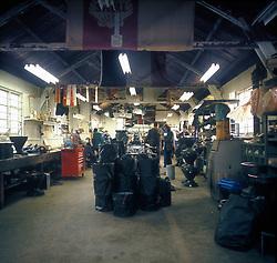 FORMEl 1: Team Tyrrell-Ford<br /> Illustration, Fabrik<br /> © pixathlon