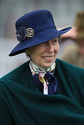 Anne, Princess Royal during Gold Cup Day of the 2017 Cheltenham Festival