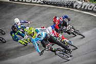 #595 (MOLINA Gonzalo) ARG at Round 6 of the 2019 UCI BMX Supercross World Cup in Saint-Quentin-En-Yvelines, France