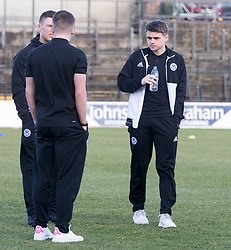 Ayr United's Alan Forrest before the William Hill Scottish Cup, fifth round match at Somerset Park, Ayr.