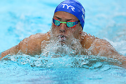 Scotland's Craig Benson competes in the Men's 200m Breaststroke - Heat 1 at the Optus Aquatic Centre during day one of the 2018 Commonwealth Games in the Gold Coast, Australia.