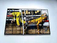 Gilbert & George NEW NORMAL PICTURES @ White Cube Mason's Yard