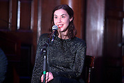 NO FEE PICTURES<br /> 30/12/15 Lisa Hannigan at the Soundings event at the House of Lords, Bank of Ireland on College Green, part of the New Years Festival in Dublin. nyf.com running from 30th Dec to 1st Jan in Dublin. Picture: Arthur Carron