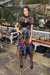 Sarah Ann Macklin at The Ivy Chelsea Garden's Annual Summer Garden Party, The Ivy Chelsea Garden, 197 King's Road, London England. 9 May 2017.<br /> Photo by Dominic O'Neill/SilverHub 0203 174 1069 sales@silverhubmedia.com