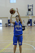 DESCRIZIONE : Roma Acqua Acetosa amichevole Nazionale Italia Donne<br /> GIOCATORE : Virginia Galbiati<br /> CATEGORIA : tiro<br /> SQUADRA : Nazionale Italia femminile donne FIP<br /> EVENTO : amichevole Italia<br /> GARA : Italia Lazio Basket<br /> DATA : 27/03/2012<br /> SPORT : Pallacanestro<br /> AUTORE : Agenzia Ciamillo-Castoria/GiulioCiamillo<br /> Galleria : Fip Nazionali 2012<br /> Fotonotizia : Roma Acqua Acetosa amichevole Nazionale Italia Donne