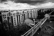 Il centro di accoglienza nel quartiere di Tor Sapienza che accoglie minori richiedenti asilo, Roma 13 Novembre 2014.  Christian Mantuano / OneShot