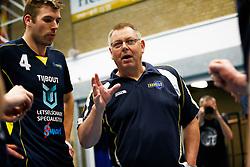 20150423 NED: Eredivisie ARBO Rotterdam Fusion - Zaanstad, Rotterdam <br />Hans Jansen headcoach of Zaanstad<br />©2015-FotoHoogendoorn.nl / Pim Waslander