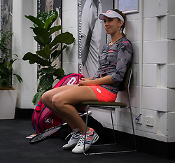 December 31, 2018 - Brisbane, AUSTRALIA - Elise Mertens of Belgium before her first-round match at the 2019 Brisbane International WTA Premier tennis tournament (Credit Image: © AFP7 via ZUMA Wire)